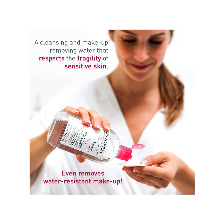 Bioderma Sensibio - H2o Makeup Removing Micellar Cleansing Solution Face & Eyes