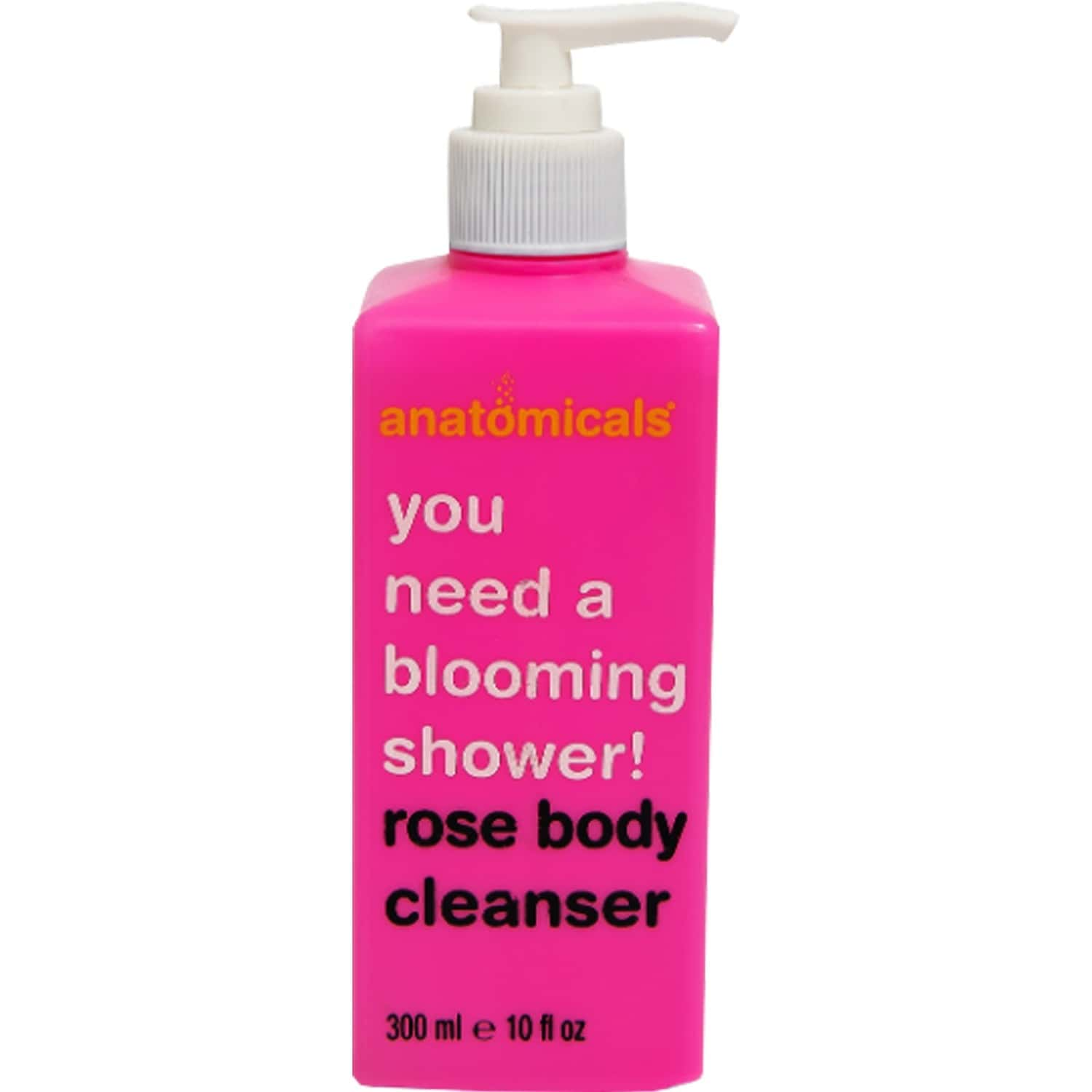 Anatomicals   Rose Body Cleanser   Softly Cleanses & Radiates   Paraben Free   Unisex   300 Ml