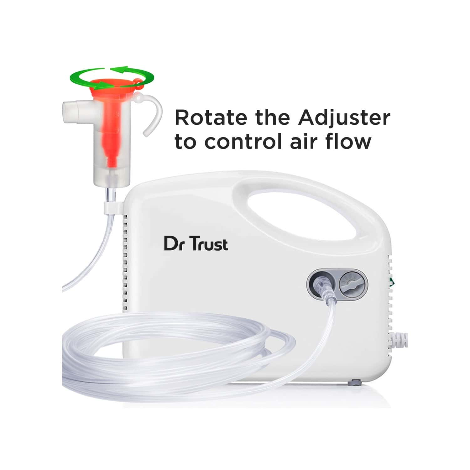 Dr Trust Bestest  Compressor Nebulizer Machine Kit