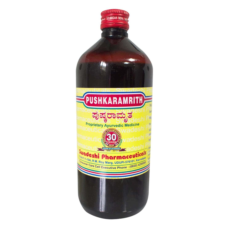 Pushkaramrith Syrup 450 Ml