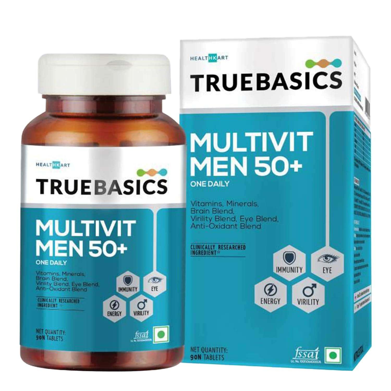 Truebasics Multivit Men 50+ - 30 Tablets
