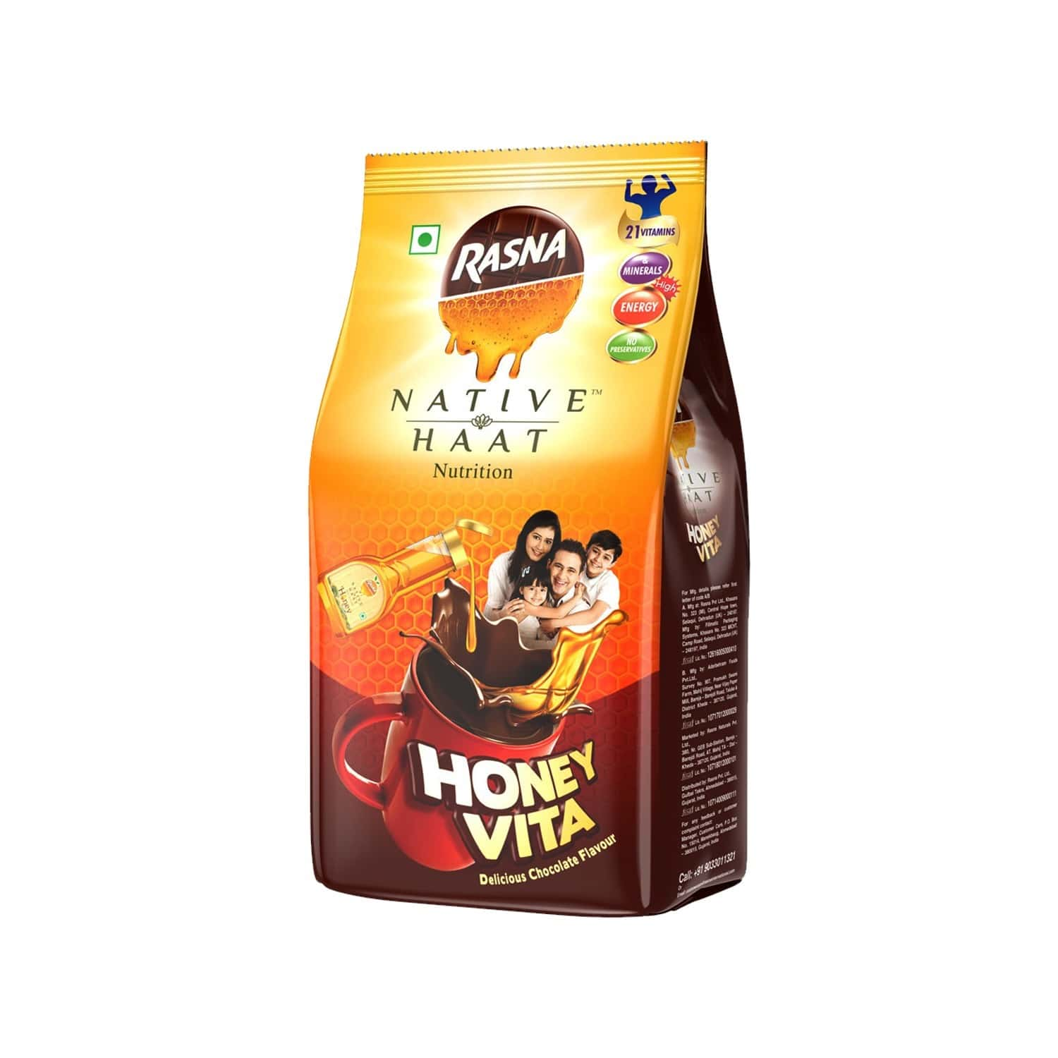 Rasna Native Haat Honeyvita Powder 500g