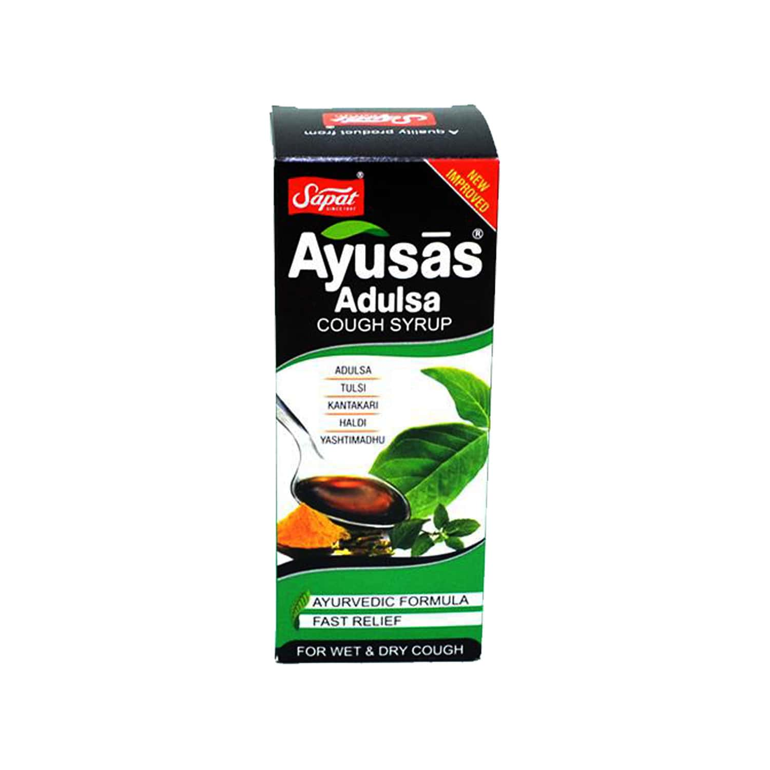 Sapat Ayusas Adulsa Syrup Honey - 100ml