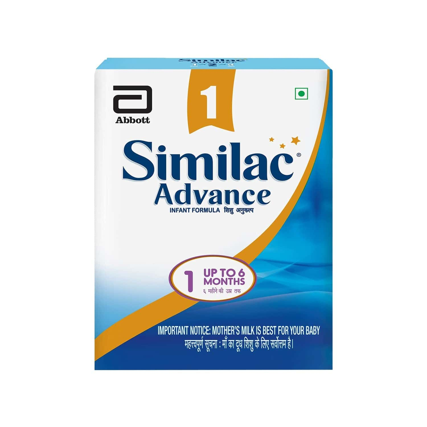 Similac Advance Baby Food Stage 1 Infant Formula (upto 6 Months) Refill Of 400 G