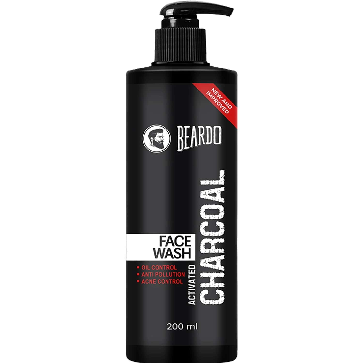 Beardo Activated Charcoal Anti-pollution Face Wash - 200 Ml