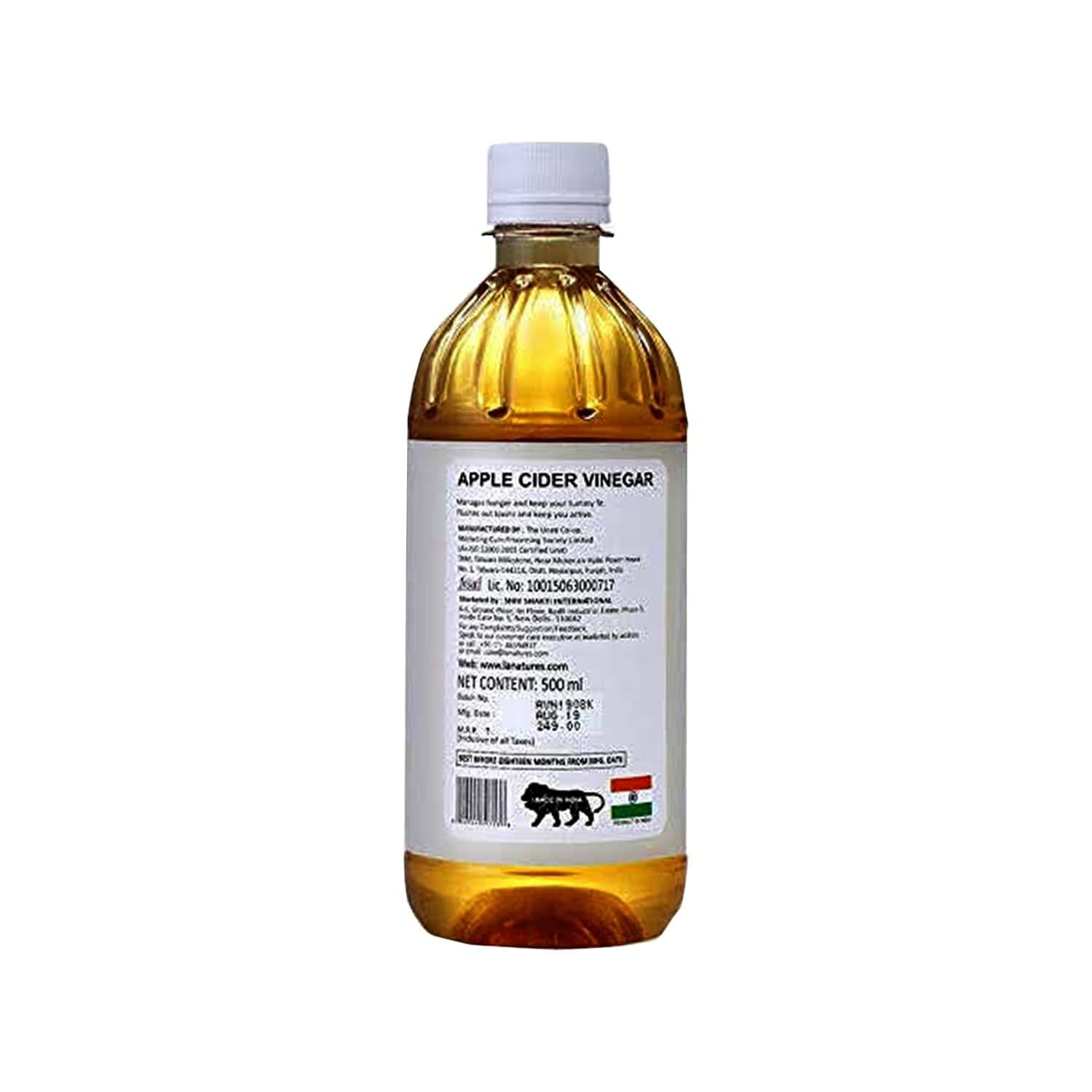 La Nature's Apple Cider Vinegar Filtered - 500ml