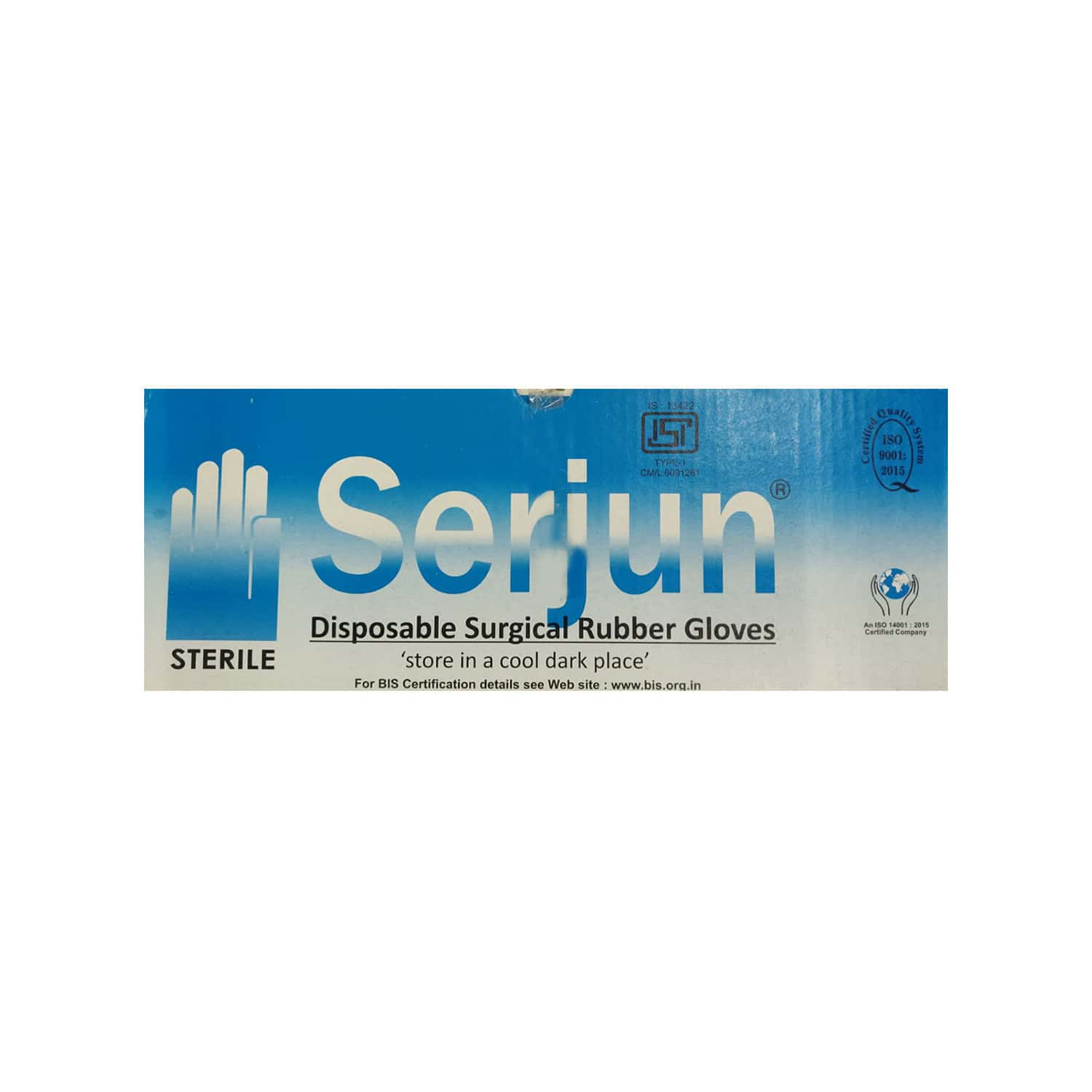 Serjun Hand Gloves Size 7 Box Of 50