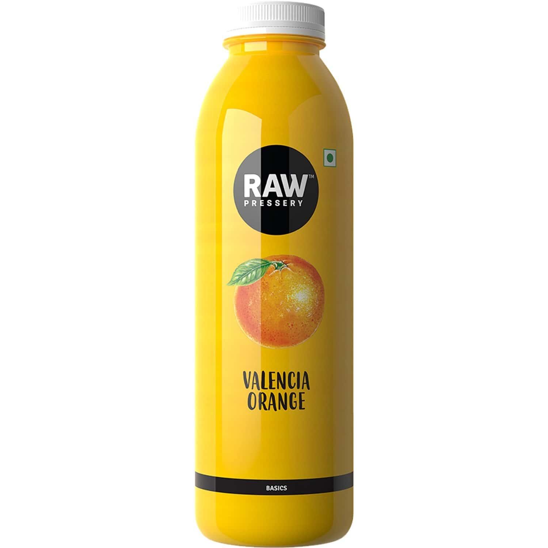 Raw Pressery Orange Valencia Juice 1000ml Bottle