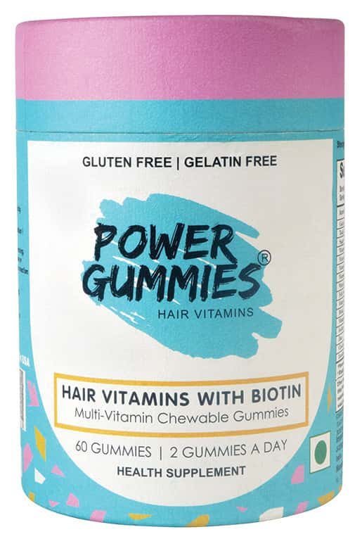 Power Gummies Hair Vitamins With Biotin (1 Month Pack)