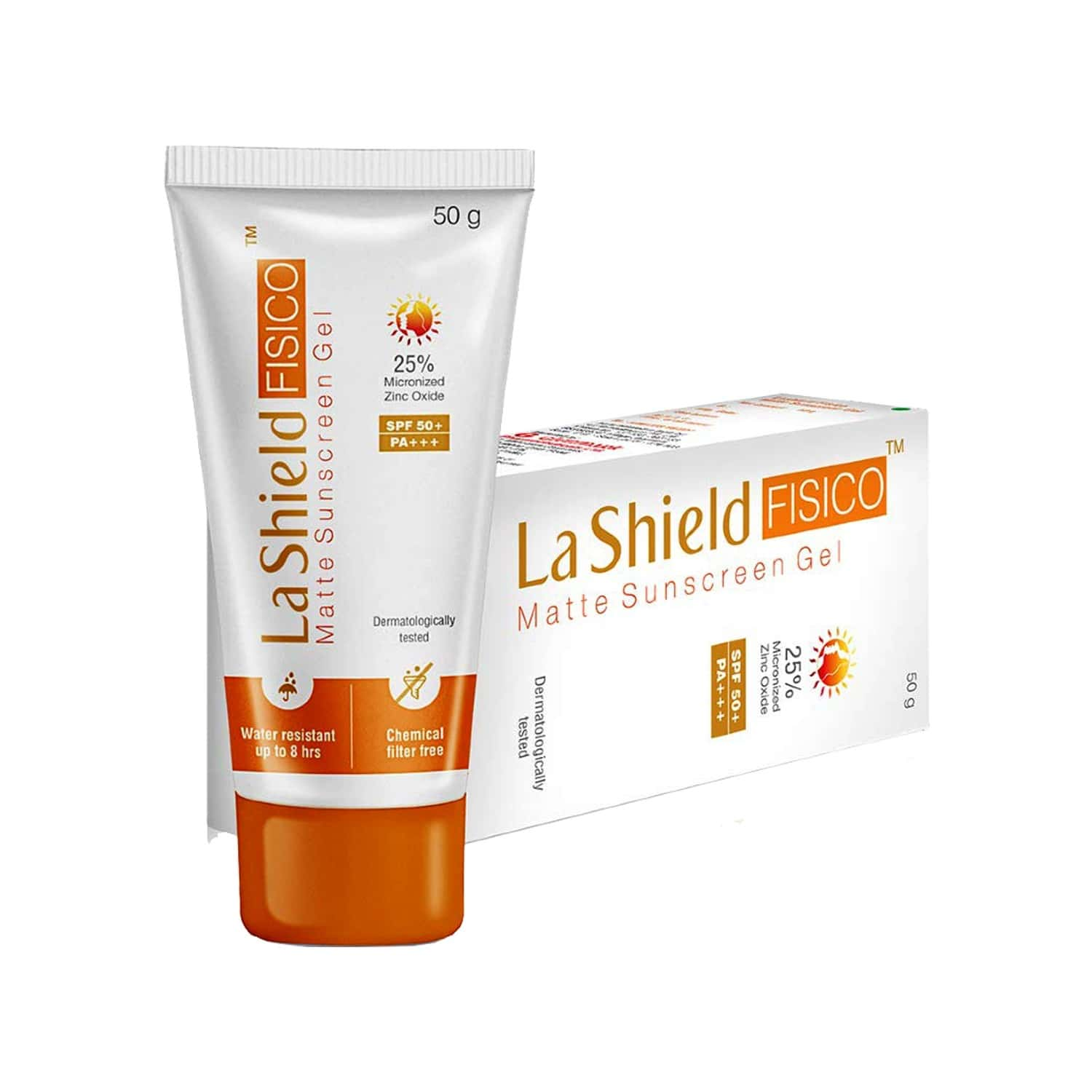 La Shield Fisico Sunscreen Spf 50 Matte Tube Of 50 G