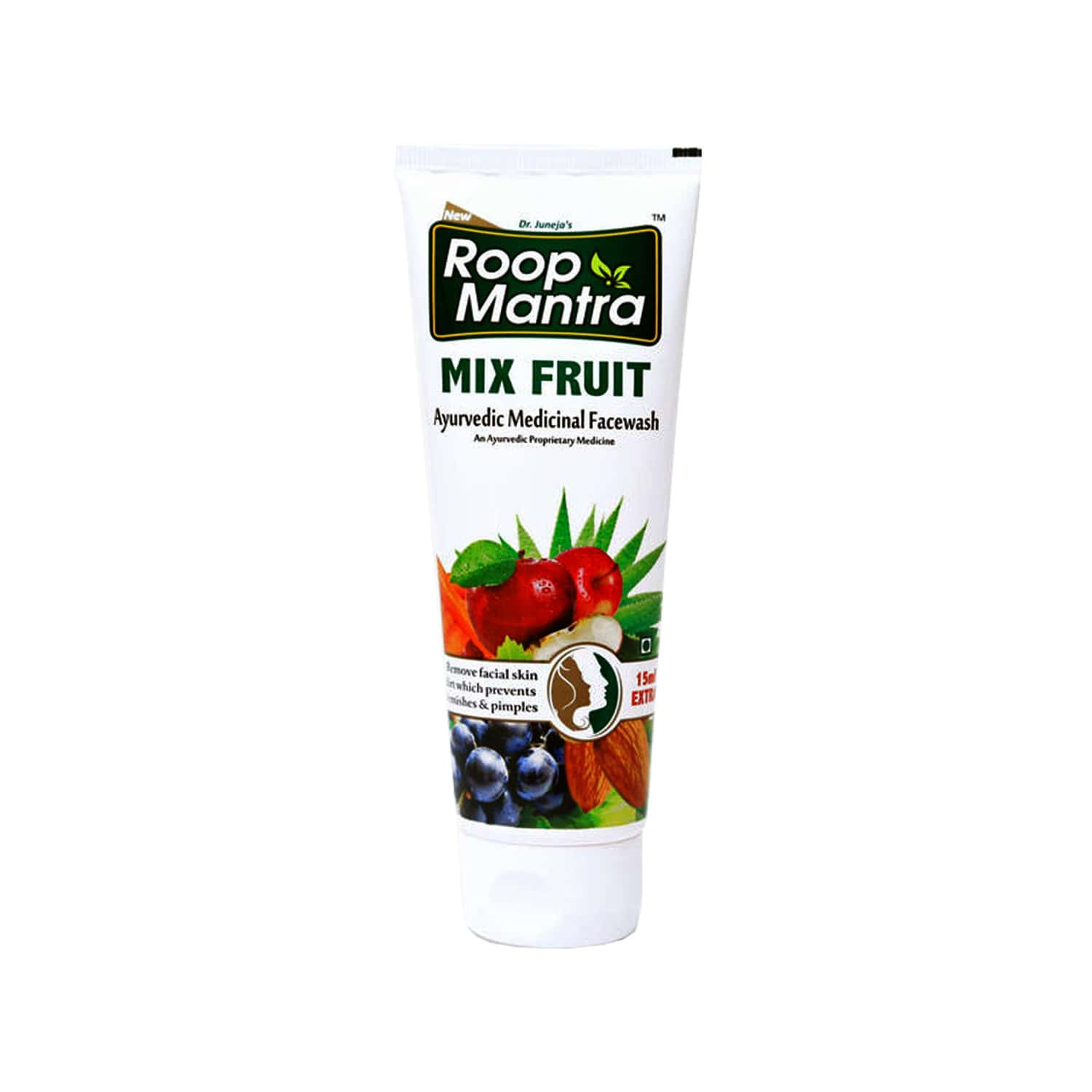 Roop Mantra Facewash Mixfruit - 115ml