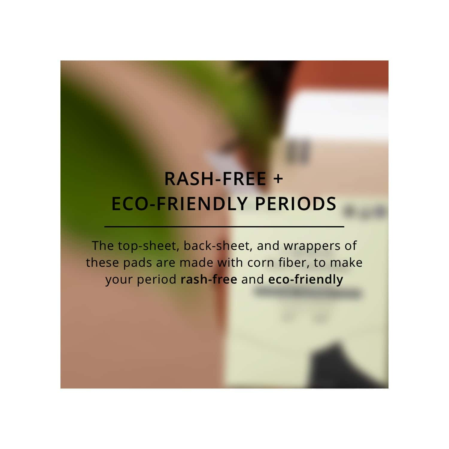 Carmesi Eco-conscious - Sanitary Pads For Rash-free + Eco-friendly Periods (30 Large)