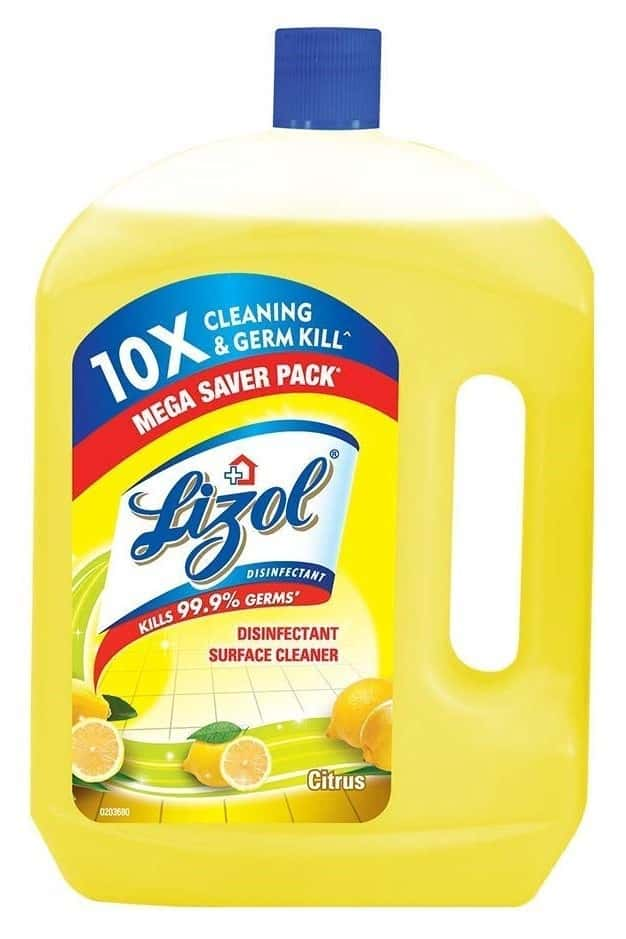 Lizol Citrus Disinfectant Floor Cleaner  Bottle Of 2 L