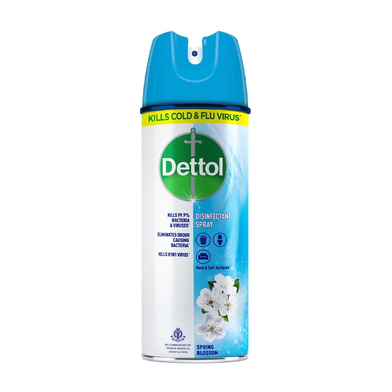 Dettol Surface Disinfectant Spray Sanitizer For Germ-protection On Hard & Soft Surfaces, Spring Blossom- 225ml