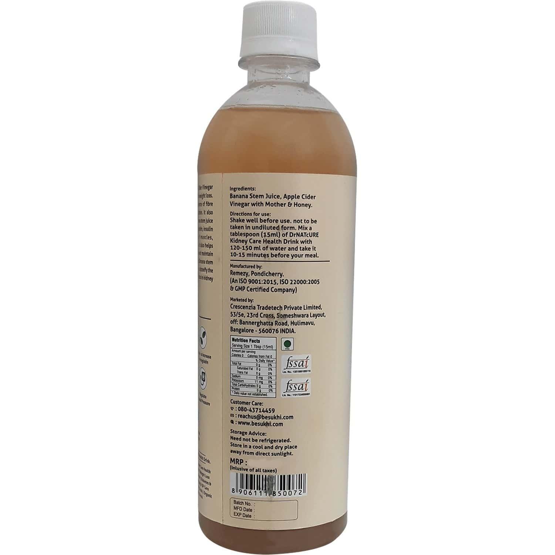 Drnatcure Apple Cider Vinegar With Banana Stem Juice And Honey(kidney Care)-500 Ml+50 Ml Free