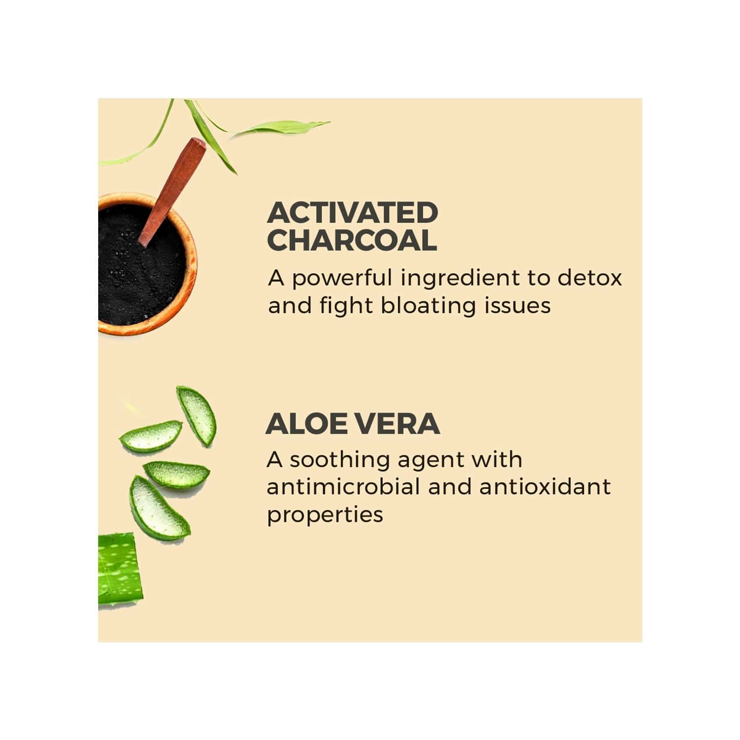 Akiva Love Stomach & Gut Cleanse Shots With Activated Charcoal (15 Shots X 40ml) - 600ml