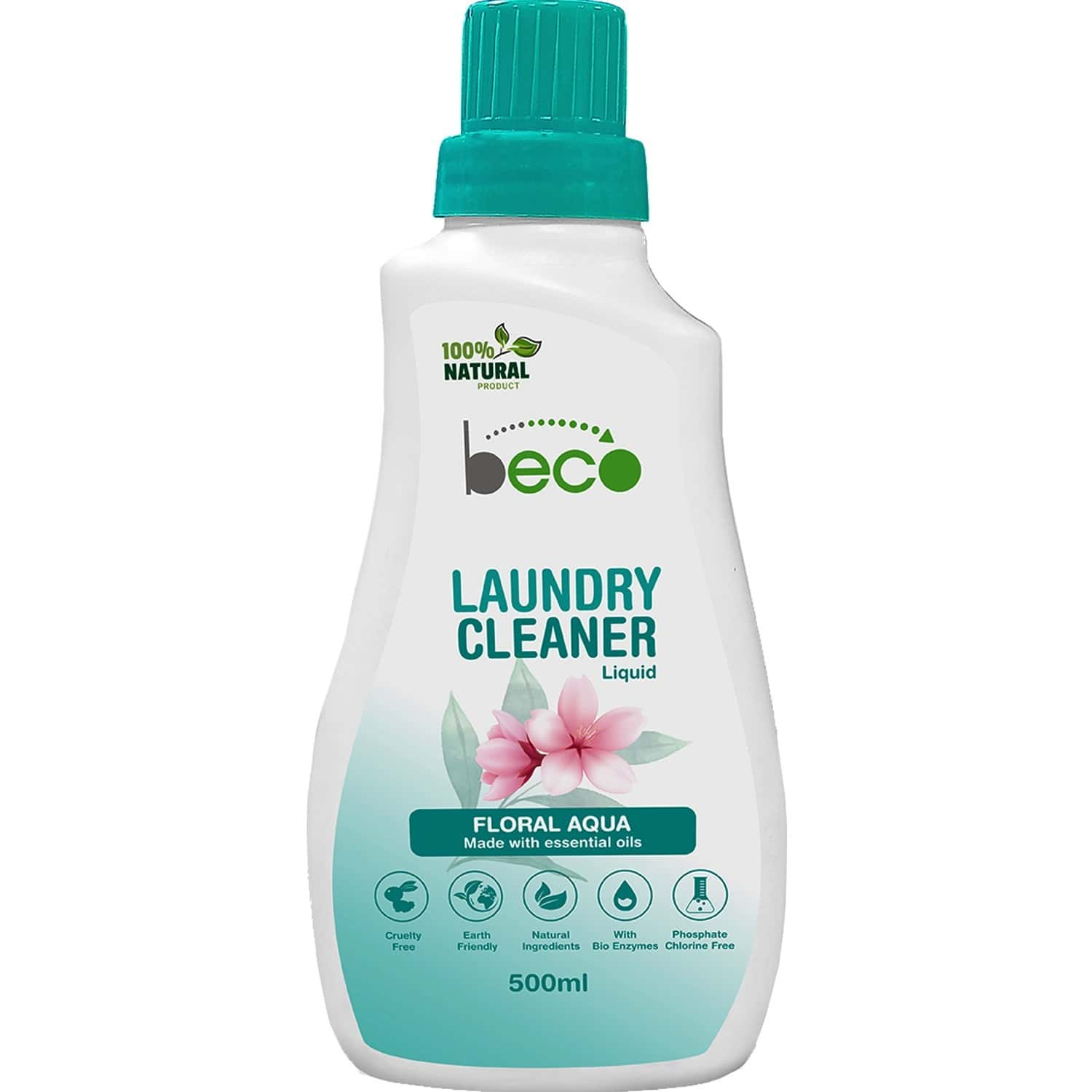 Beco Natural Laundry Detergent Liquid 500ml- Baby Safe