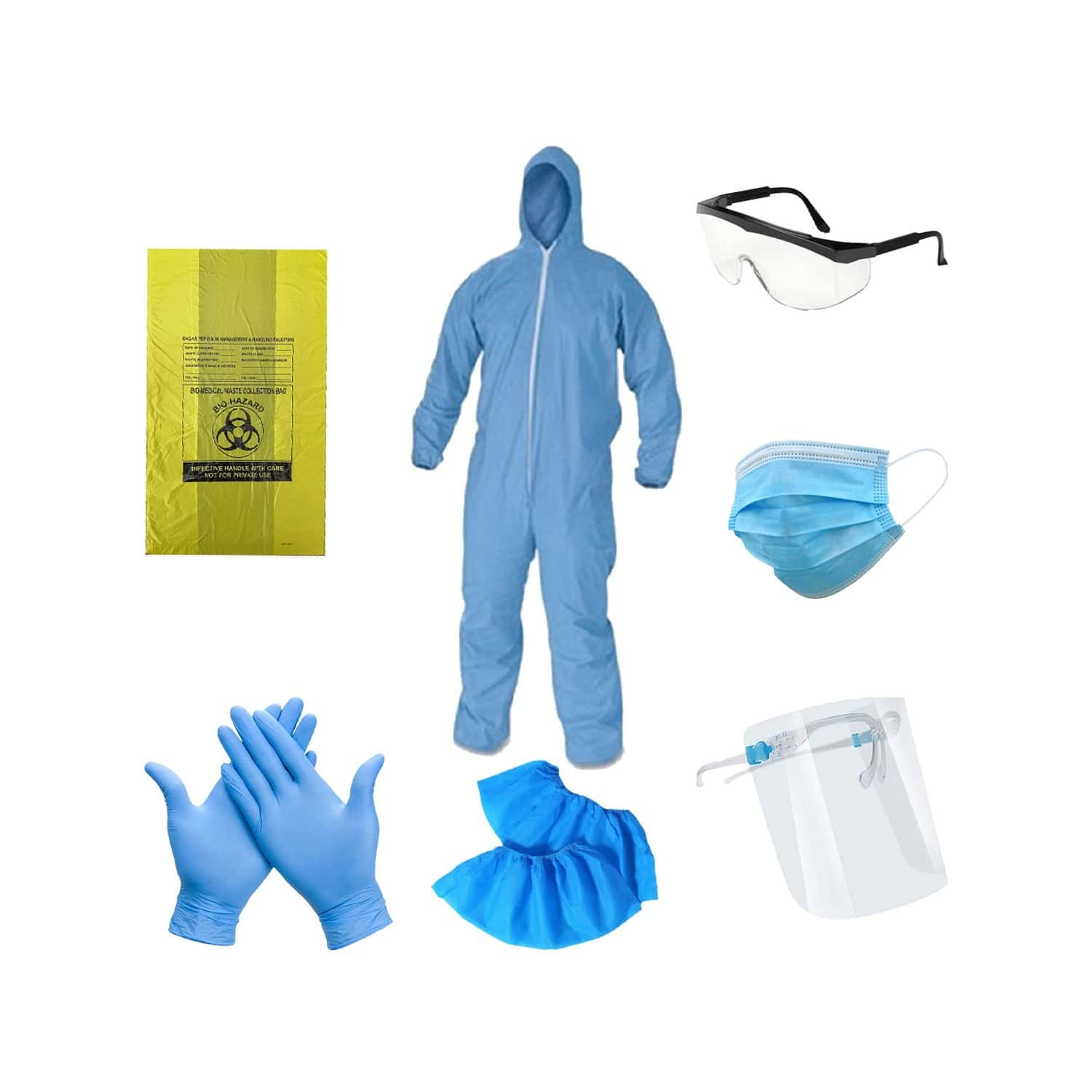Personal Protective Equipment Kit (ppe) By Sac Careplus & Daiwik's