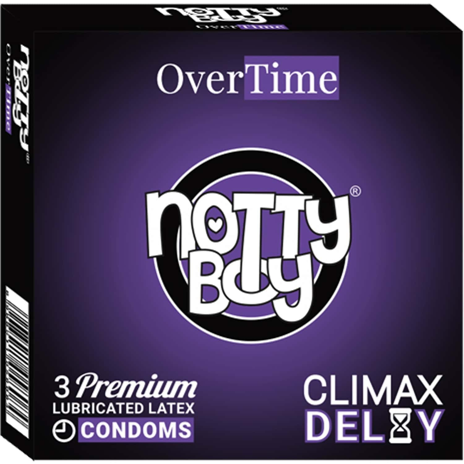 Nottyboy Overtime - Climax Delay Condoms 3