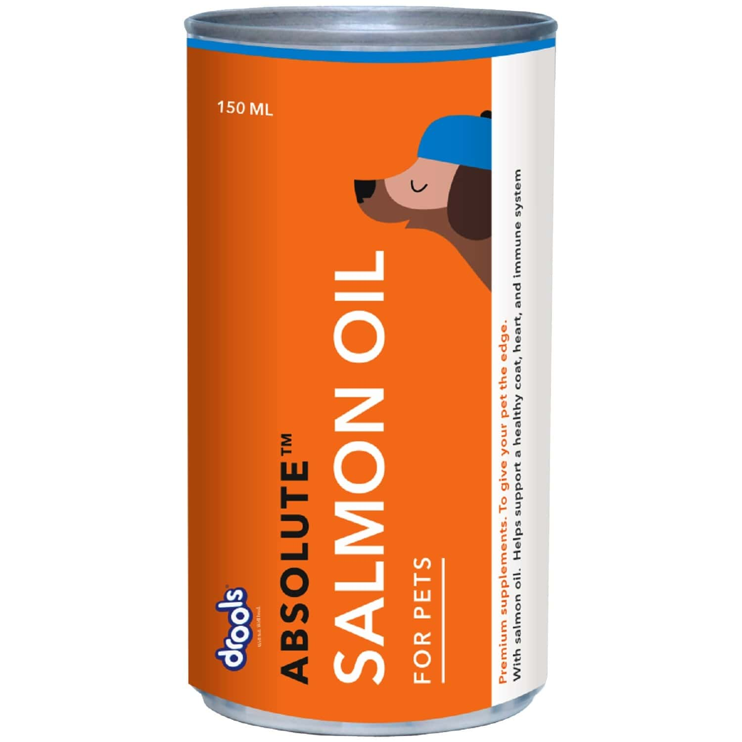Drools Absolute Salmon Oil Syrup - Dog Supplement 150ml