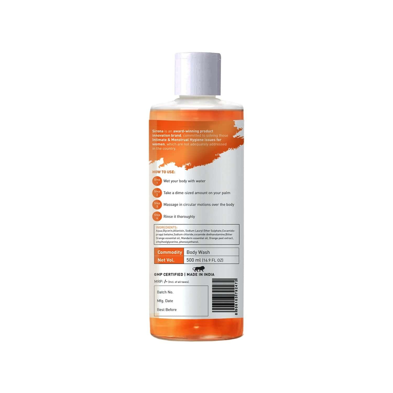 Sirona Body Wash With Bitter Orange And Mandarin - 500ml