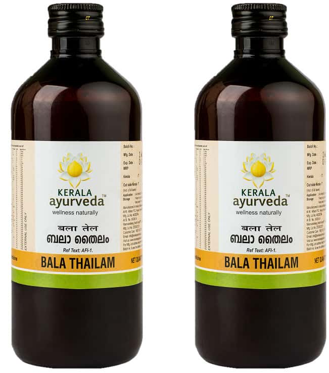 Kerala Ayurveda Bala Thailam - 200 Ml - Pack Of 2