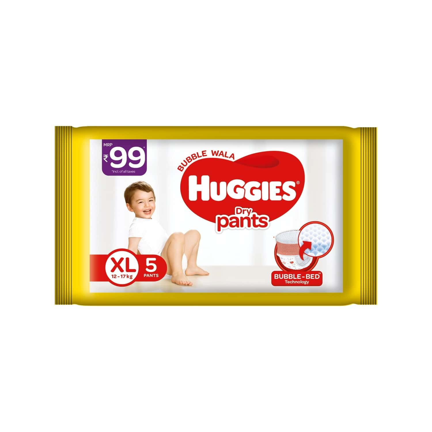 Huggies Dry Pants Diapers ( Extra Large Size) - 5 Count