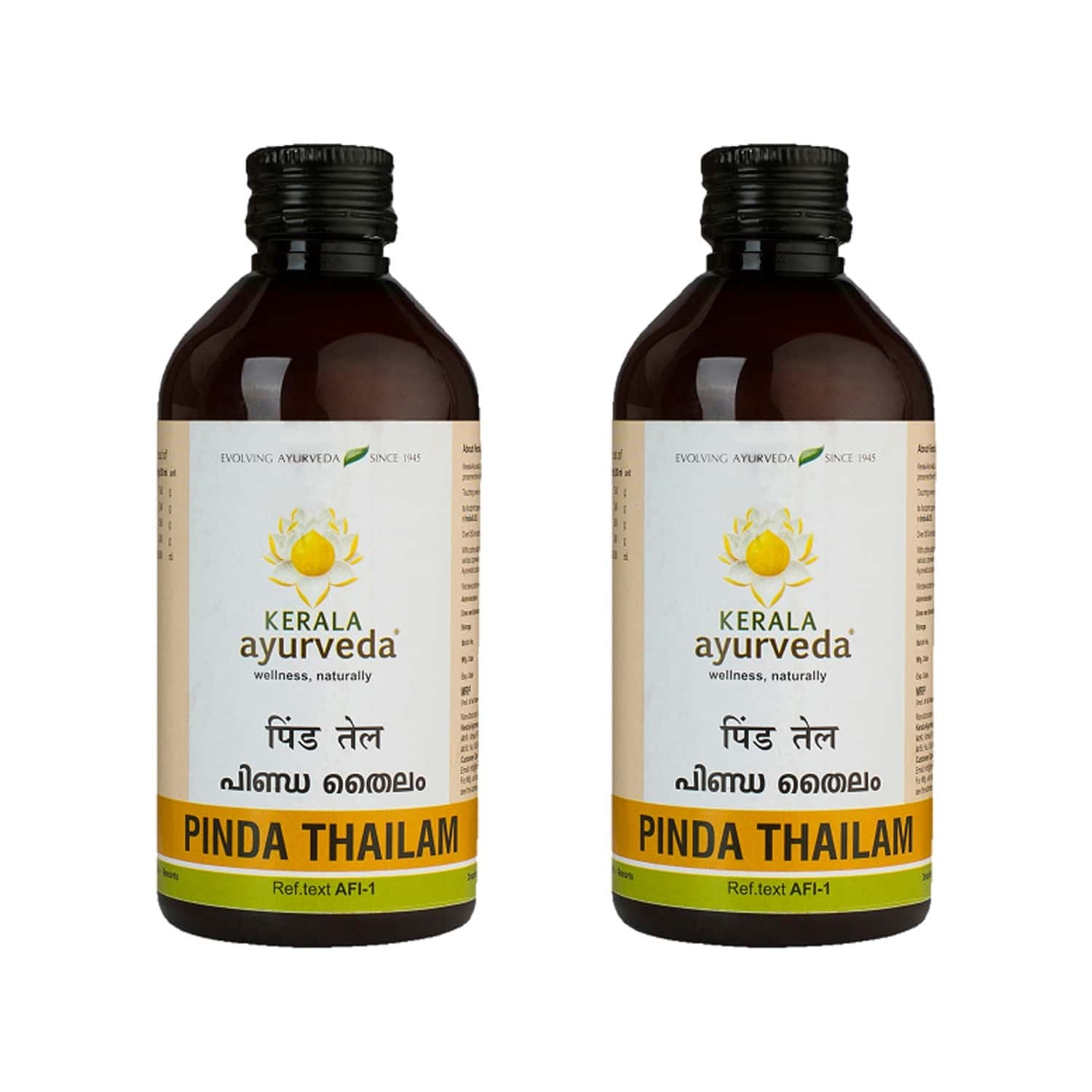 Kerala Ayurveda Pinda Thailam - 200 Ml - Pack Of 2