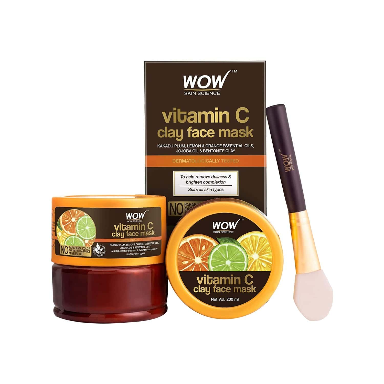 Wow Skin Science Vitamin C Face Mask - 200 Ml