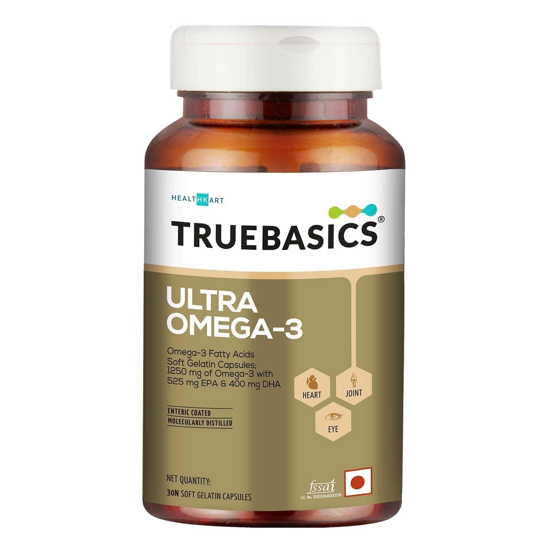 Truebasics Ultra Omega Enriched 1250 Mg - 30 Softgels