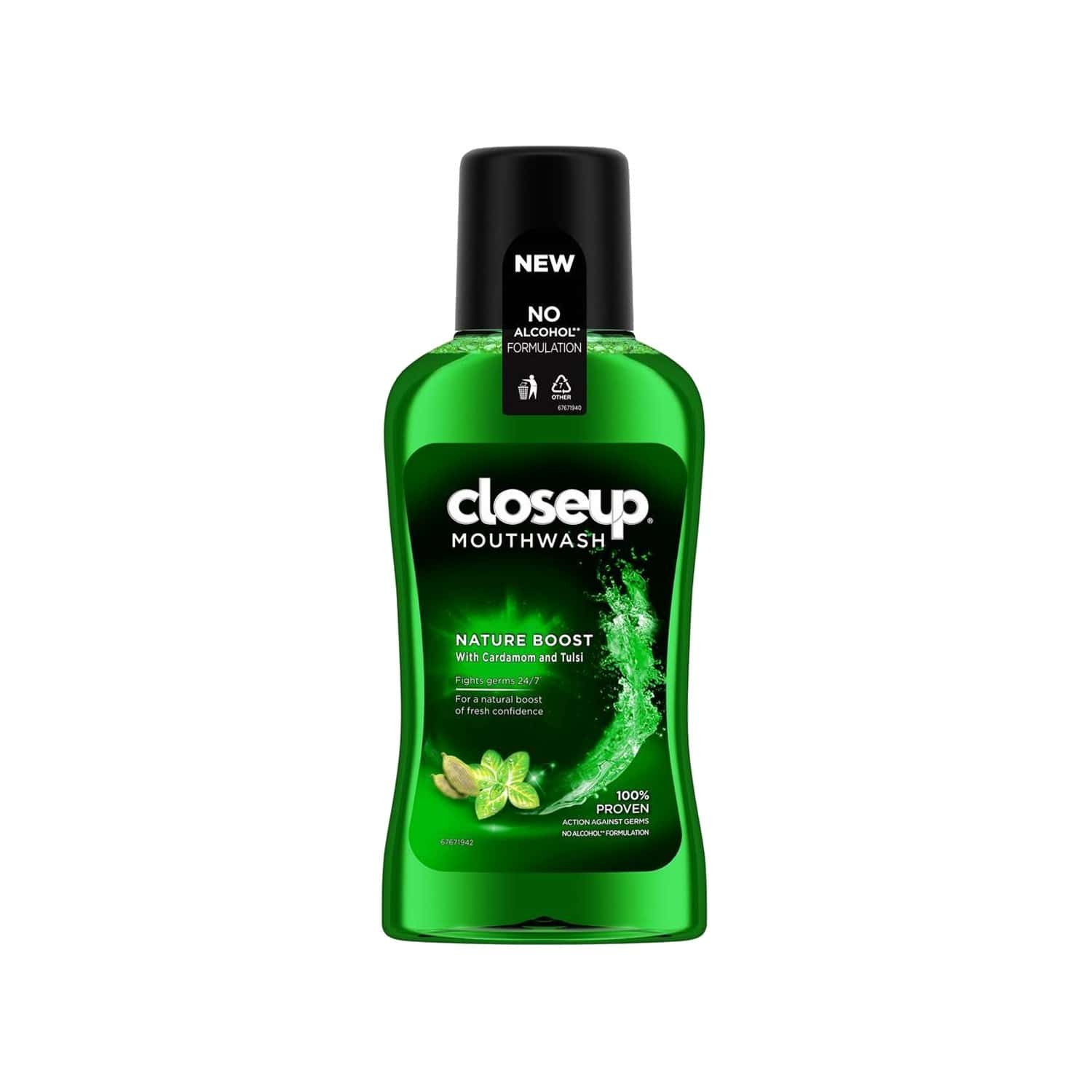 Closeup Nature Mouthwash Bottle Of 250 Ml