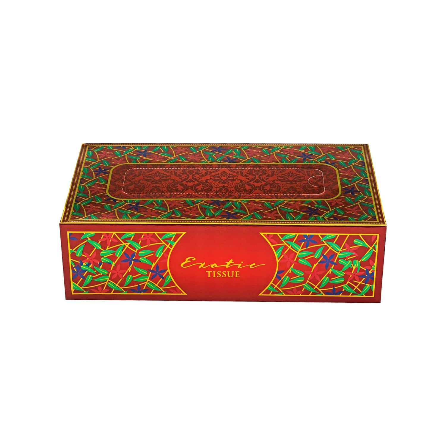 Exotic Bella Tissue Paper Box ( Pack Of 2 ) - 200 Tissues