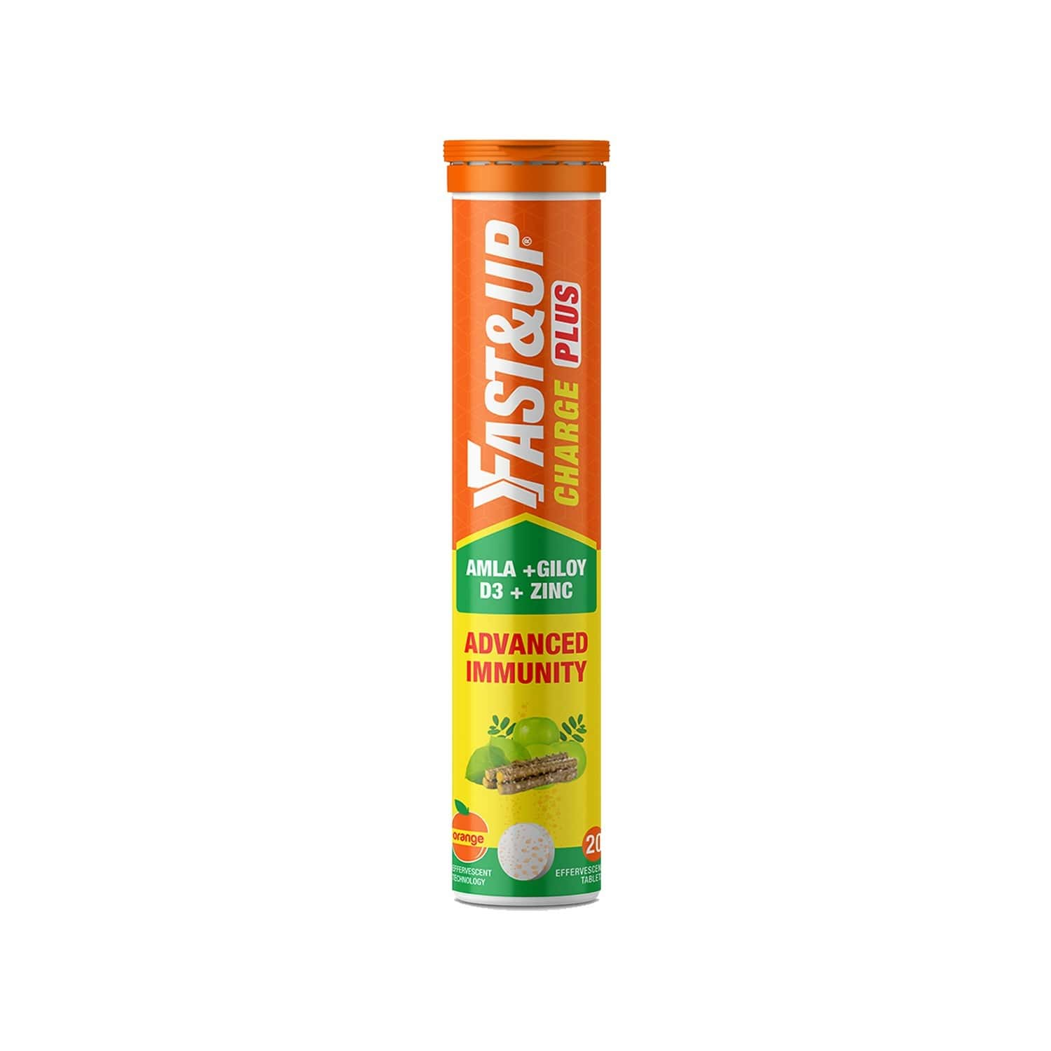 Fast&up Charge Plus With Natural 4 In 1 Advance Immunity Defence Formula