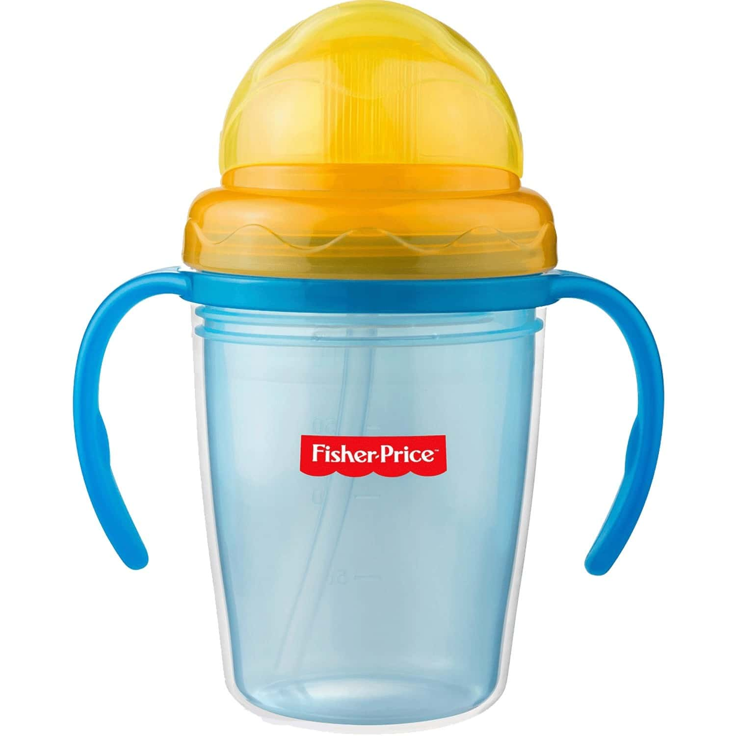 Fisher Price Double Wall Baby Sipper Training Cup 8oz/230ml Blue