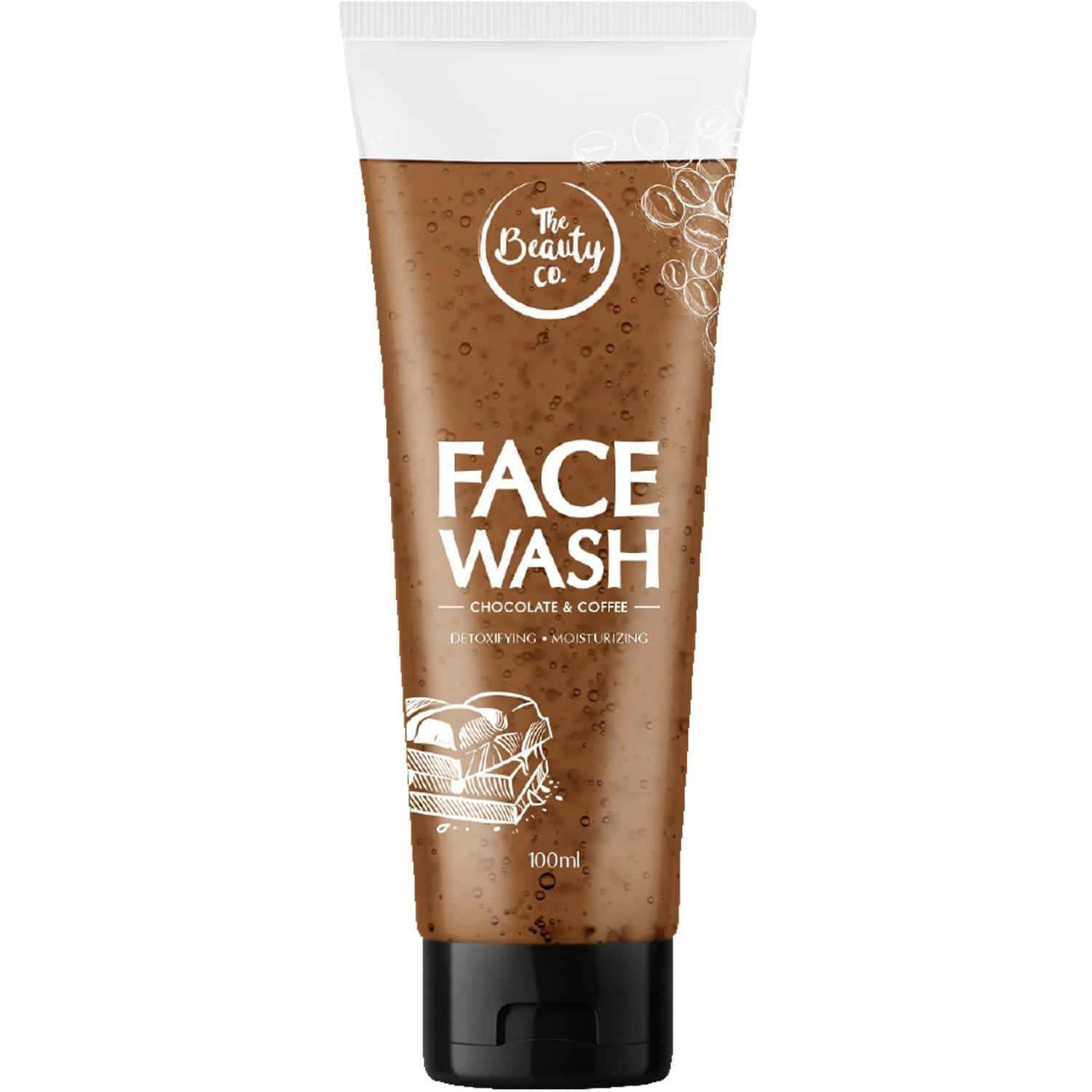 The Beauty Co. Chocolate And Coffee Face Wash, 100ml