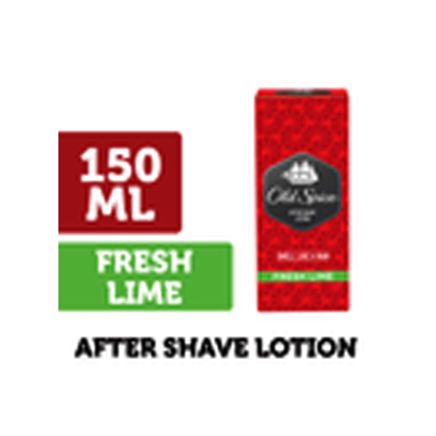Old Spice After Shave Lotion (fresh Lime) - 150ml