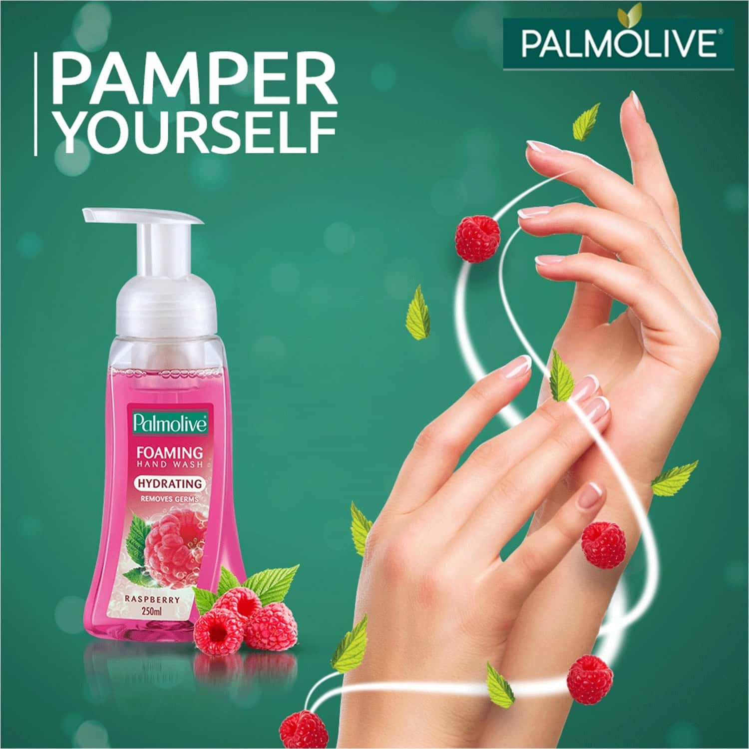 Palmolive Body Wash Luminous Oils Invigorating Shower Gel With 100% Natural Macadamia Oil & Peony Extracts - 750 Ml