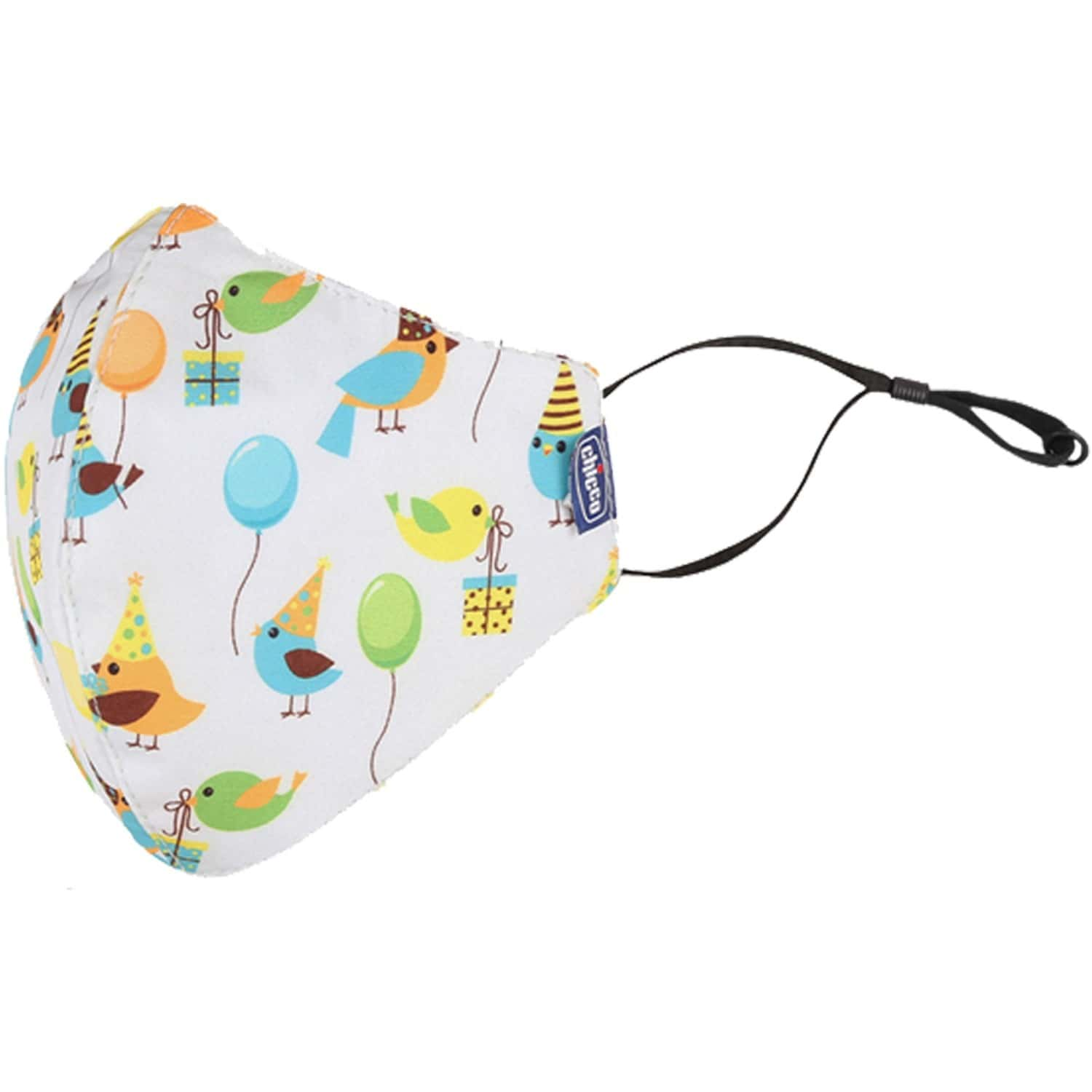 Chicco Kids Face Mask 3-6y Pand-jung-bird - 3pc