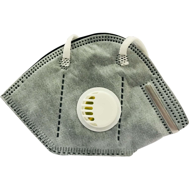 Aaxxa Kn 95 Mask Grey With Respirator 1