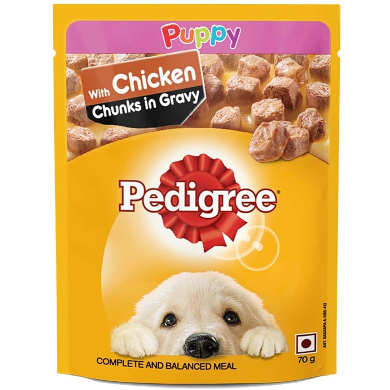 Pedigree Pup Chik&rice Wet 80g