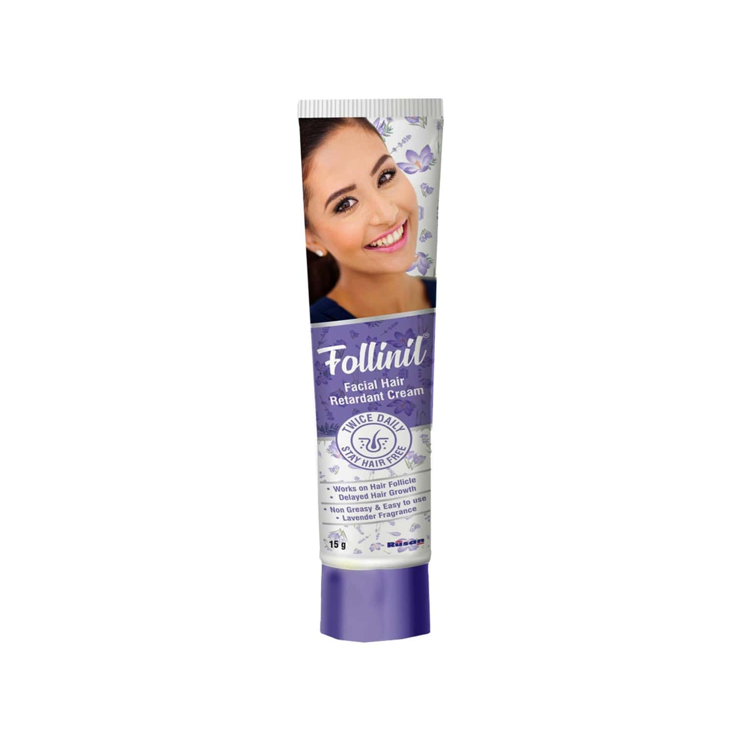 Follinil Facial Hair Retardant Cream - 15g