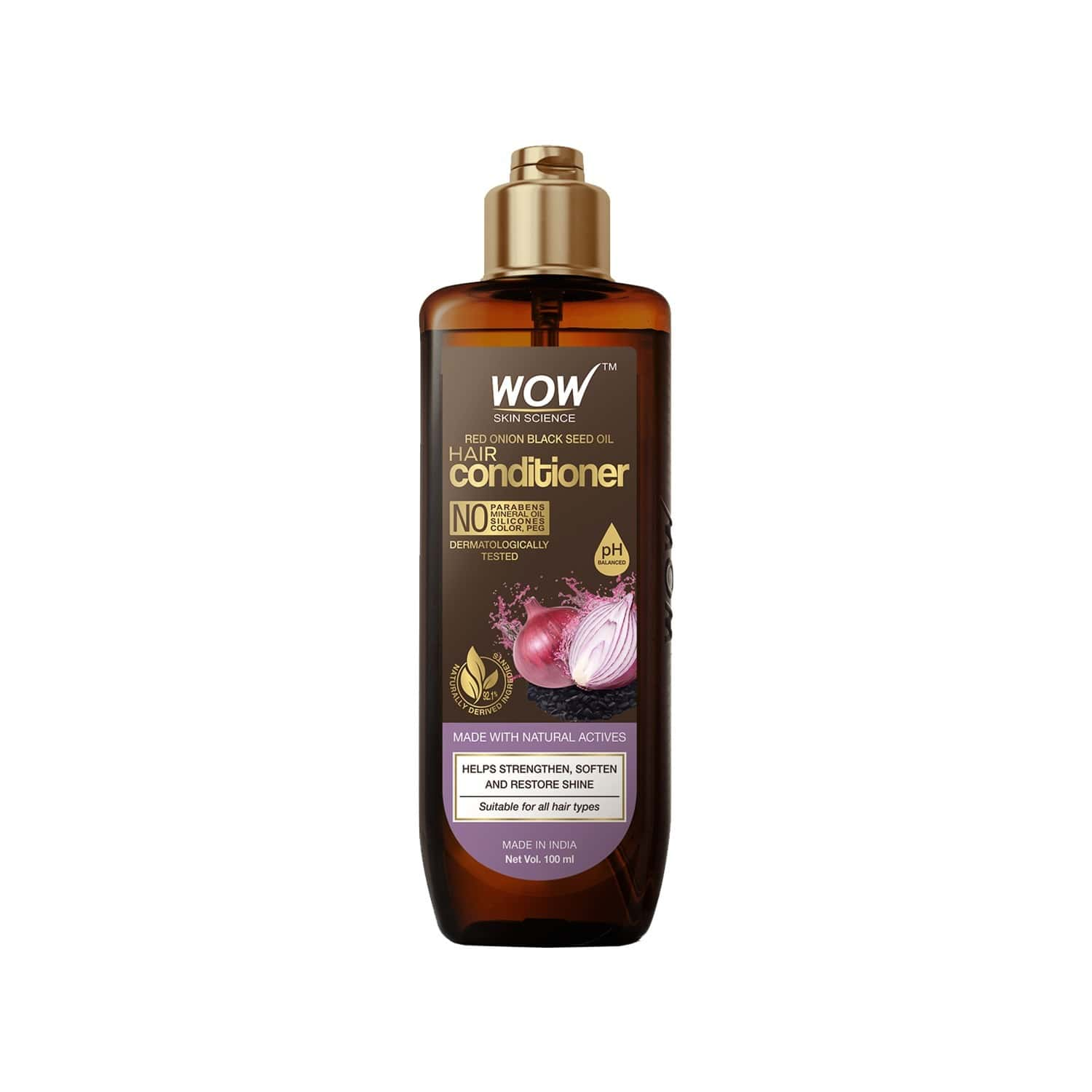 Wow Skin Science Red Onion Black Seed Oil Hair Conditioner - 100ml