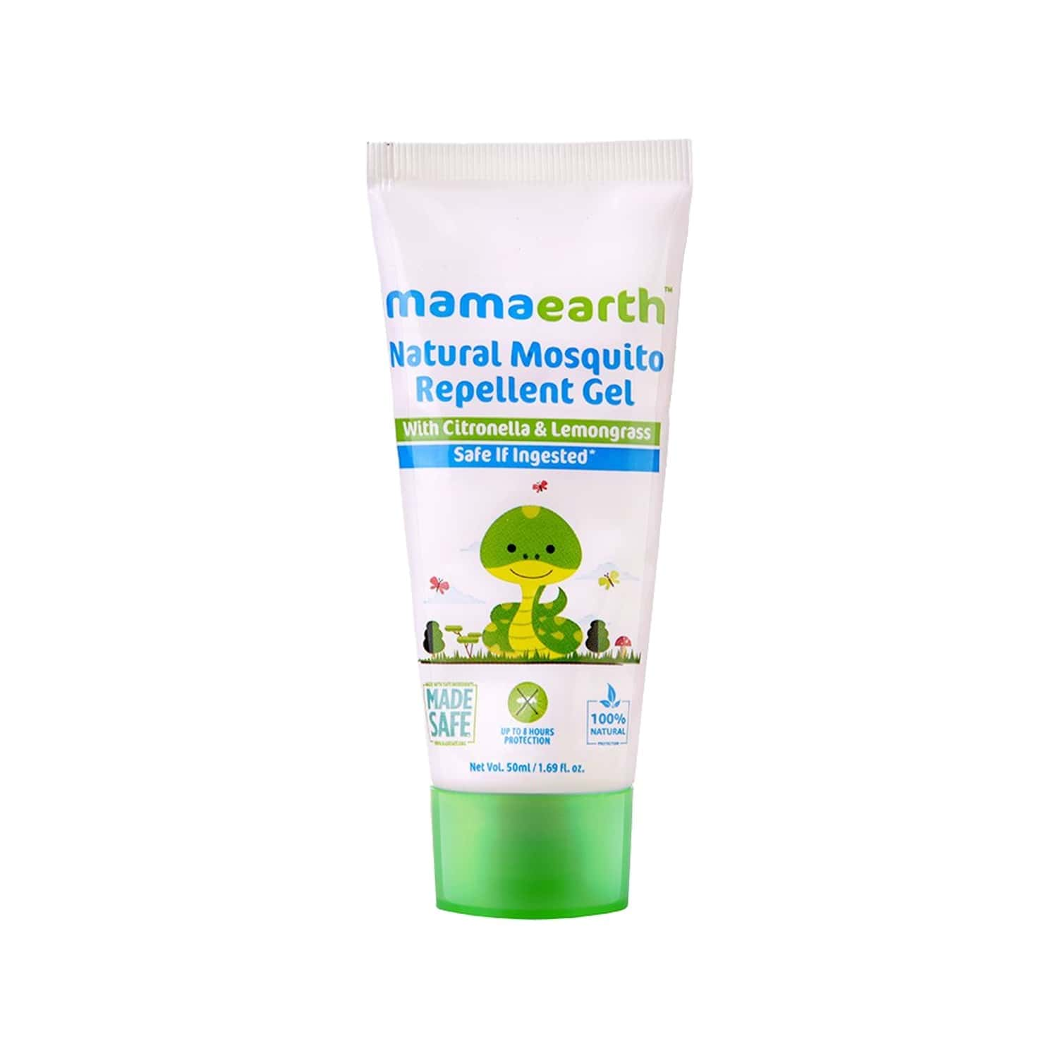 Mamaearth Natural  Mosquito Repellent Gel  Box Of 100 Ml (pack Of 2x50ml)