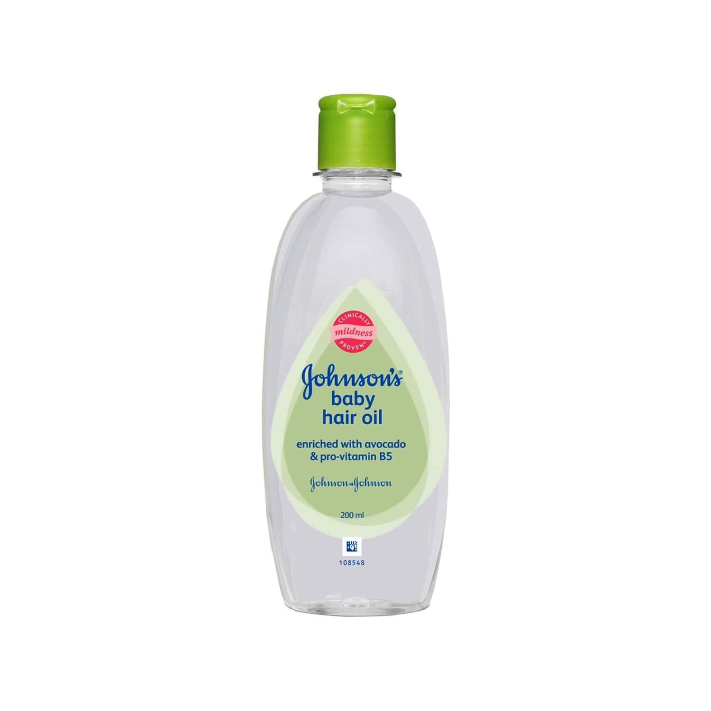 Johnson's Baby Avacado Hair Oil  Bottle Of 200 Ml
