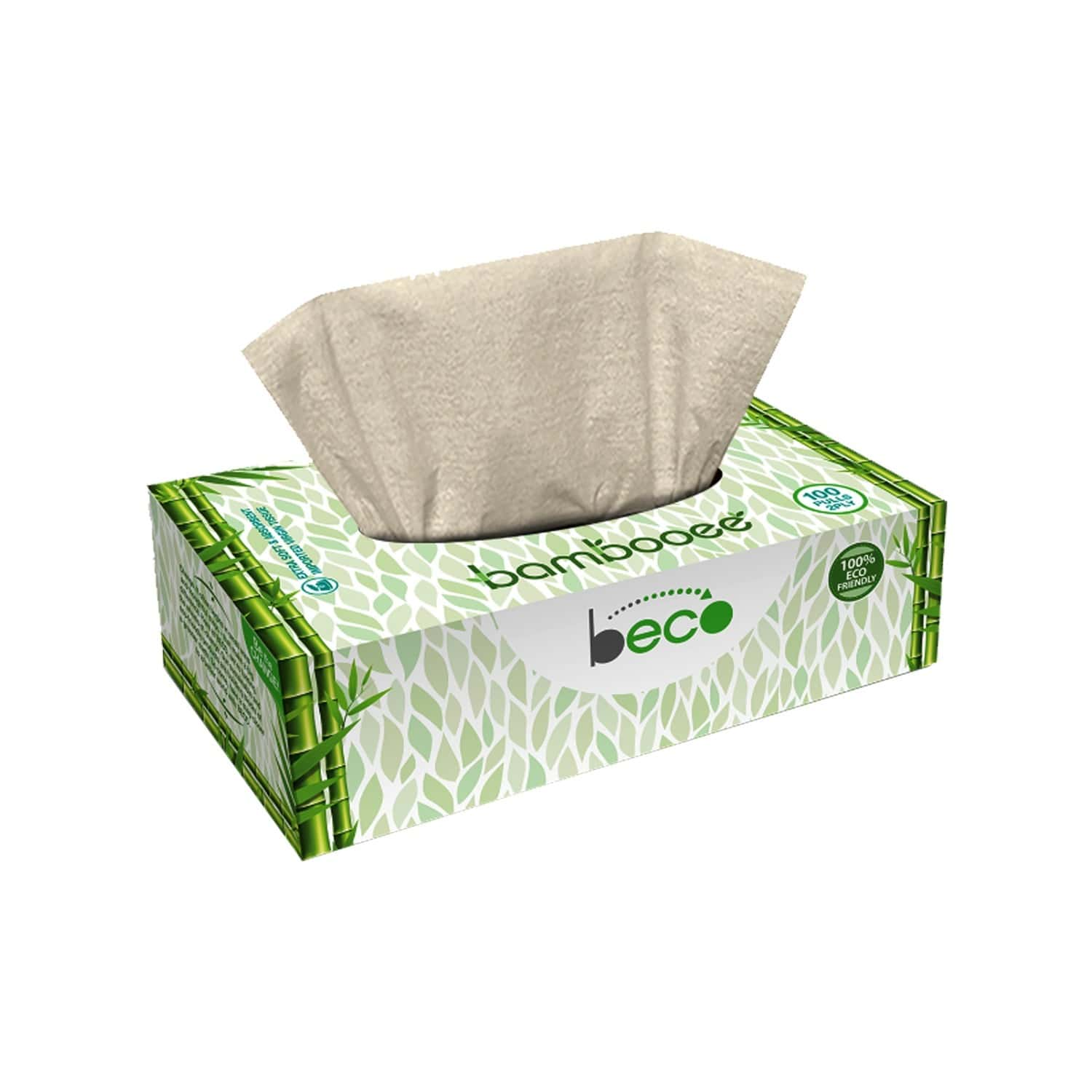 Beco Facial Tissue Carbox - 100 Pulls