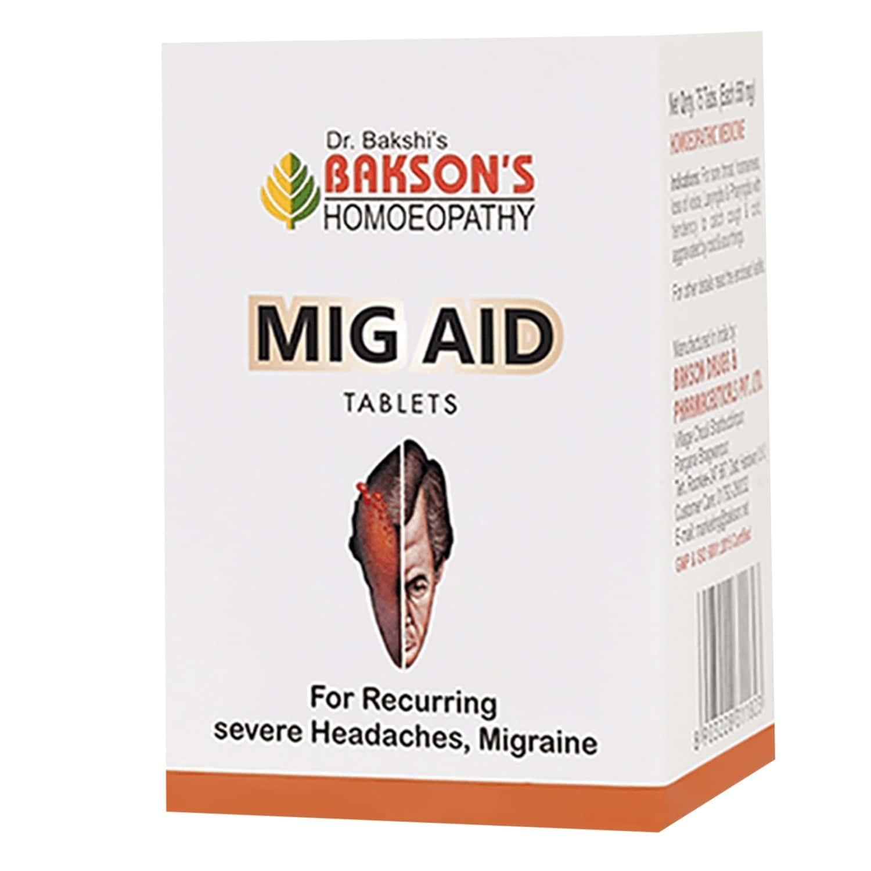 Baksons Mig Aid Tablet 75