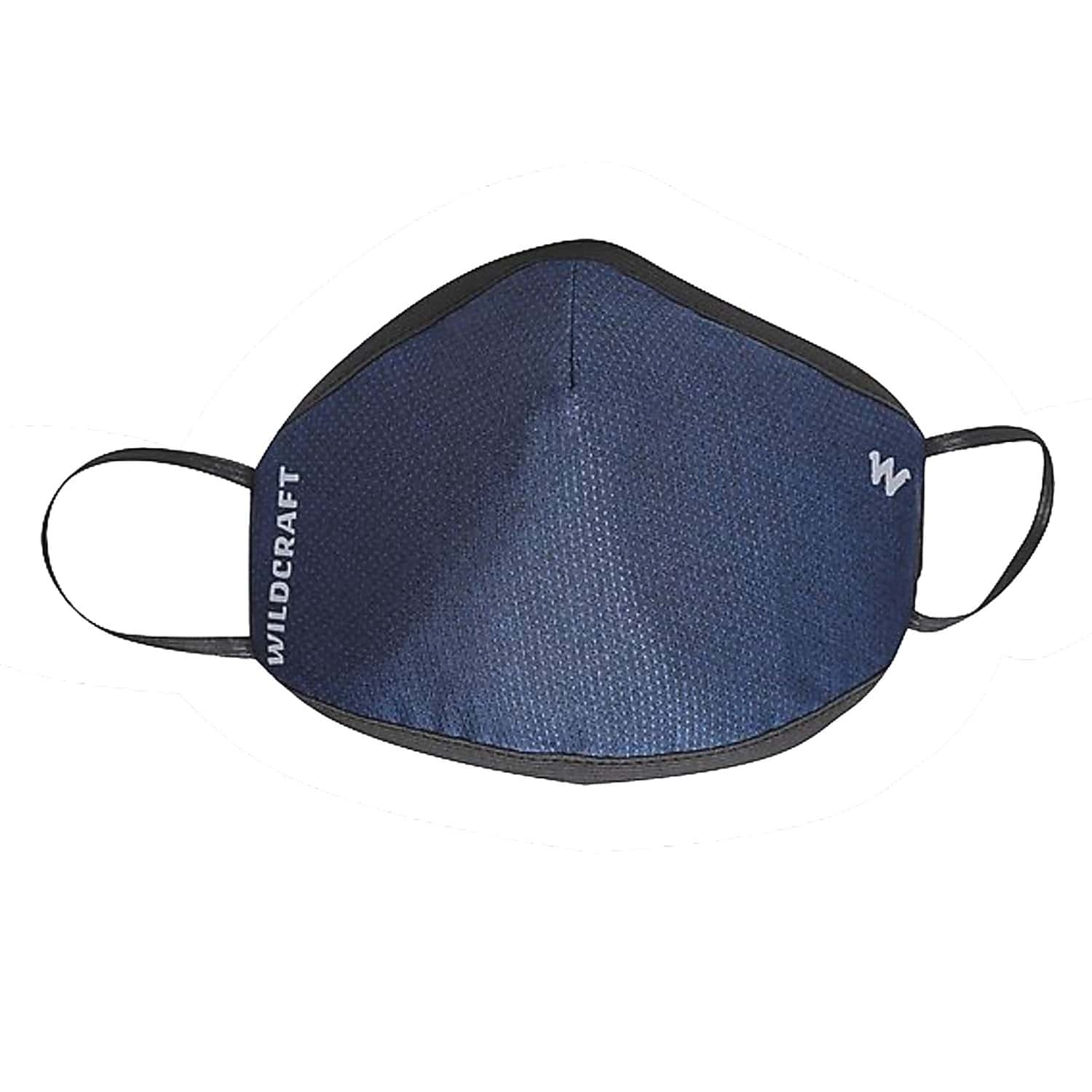 Wildcraft Supermask W95+ Reusable Outdoor Respirator Face Mask Anti-dust| Anti-bacterial | Anti-pollution- Size M (blue)