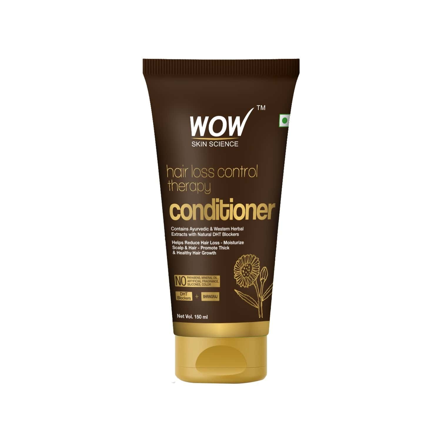 Wow Skin Science  Hair Loss Control Therapy Conditioner  Tube Of 150 Ml