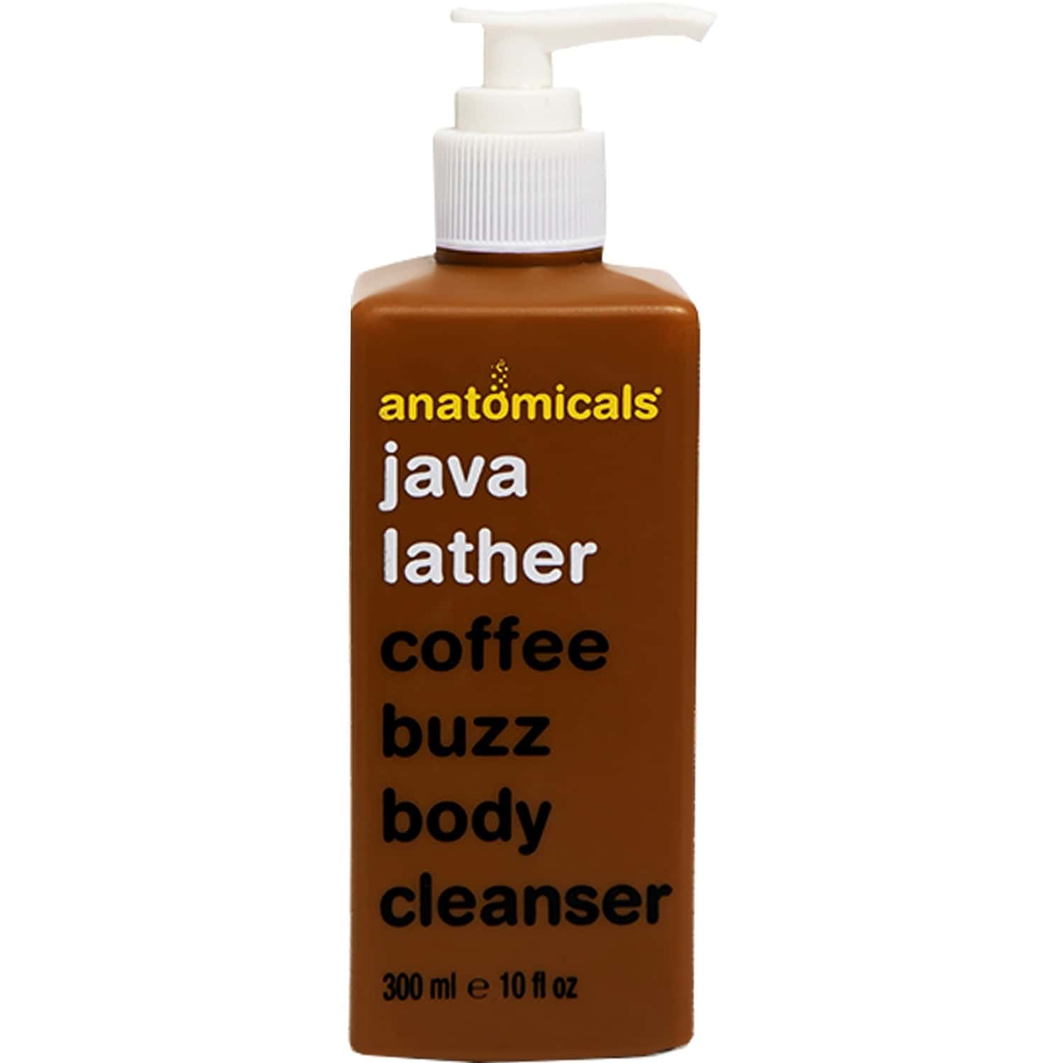 Anatomicals   Coffee Buzz Body Cleanser   Thoroughly Cleanses And Invigorates   Paraben Free   Unisex   300 Ml