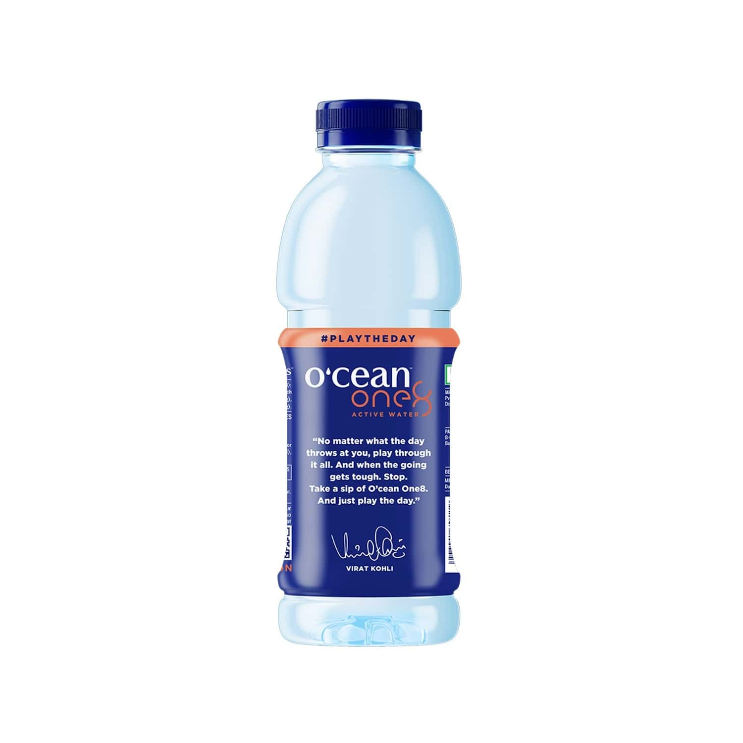 O'cean Peach Active Water  Bottle Of 500 Ml